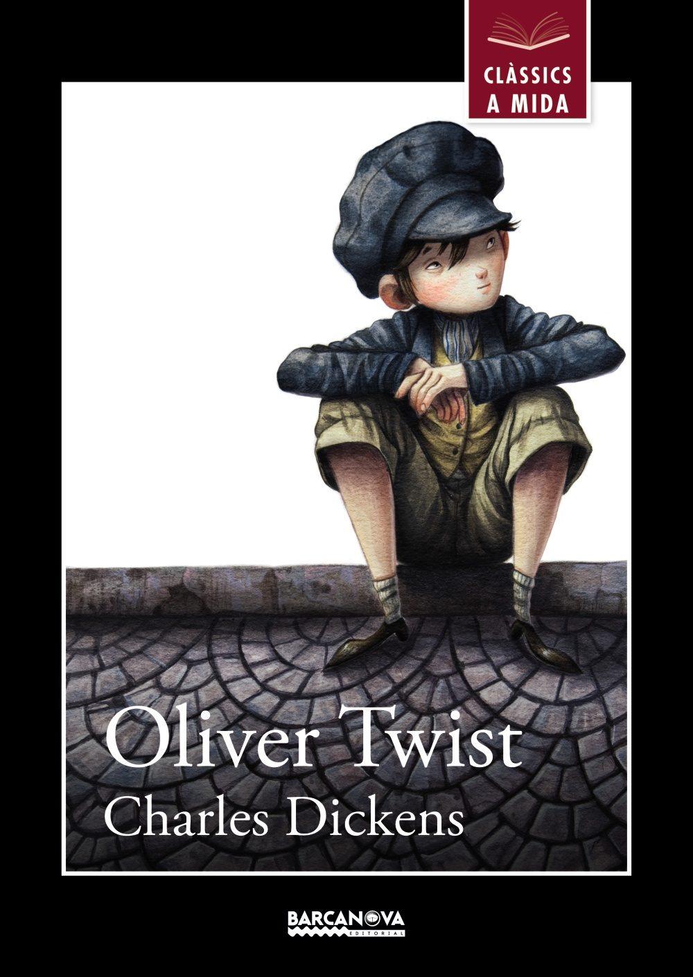 "portada de ""Oliver Twist"", de Charles Dickens"