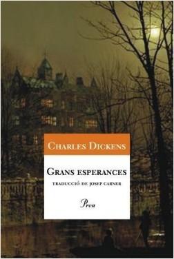 """portada de """"Grans esperances"""", de Charles Dickens"""