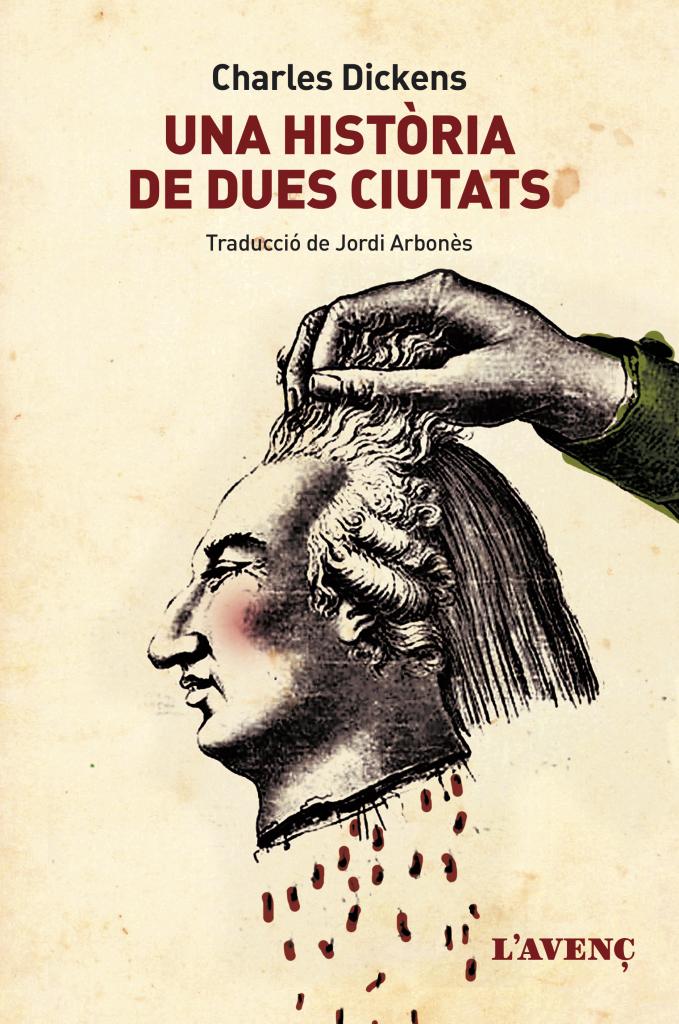 """portada de """"Una història de dues ciutats"""", de Charles Dickens"""